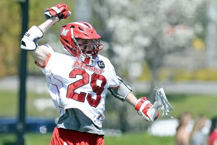 Edward Coombs is still the driving force behind the Marist College men's lacrosse team.